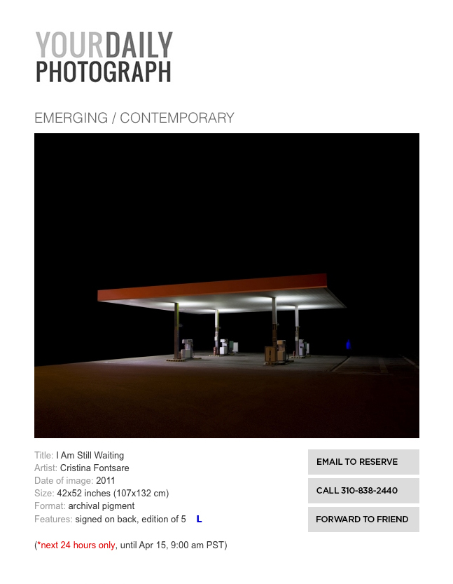 yourdaily photograp gasolinera